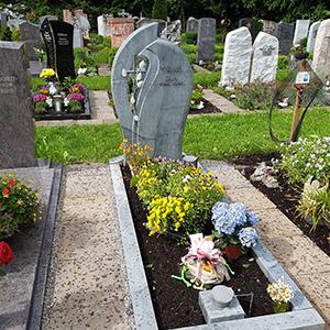 Einzelgräber – Grabdenkmäler